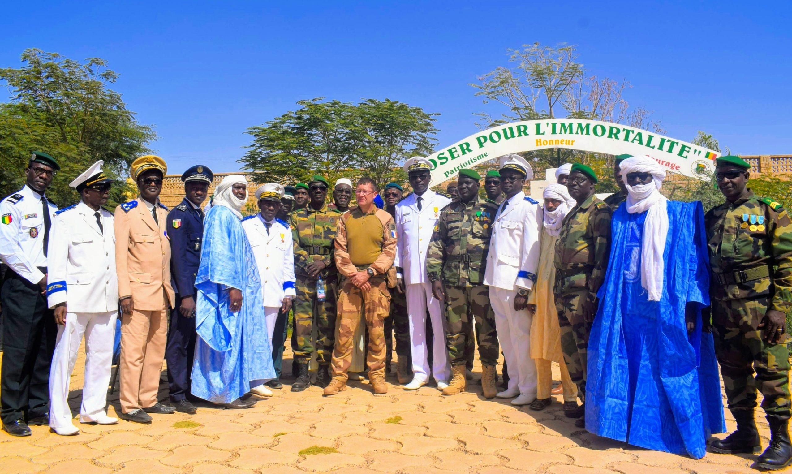 Célébration de la fête de l'armée Malienne à Tombouctou.