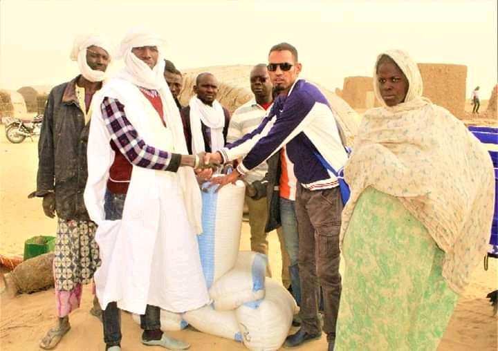 Goundam : Distribution d'une tonne de vivres aux couches vulnérables.