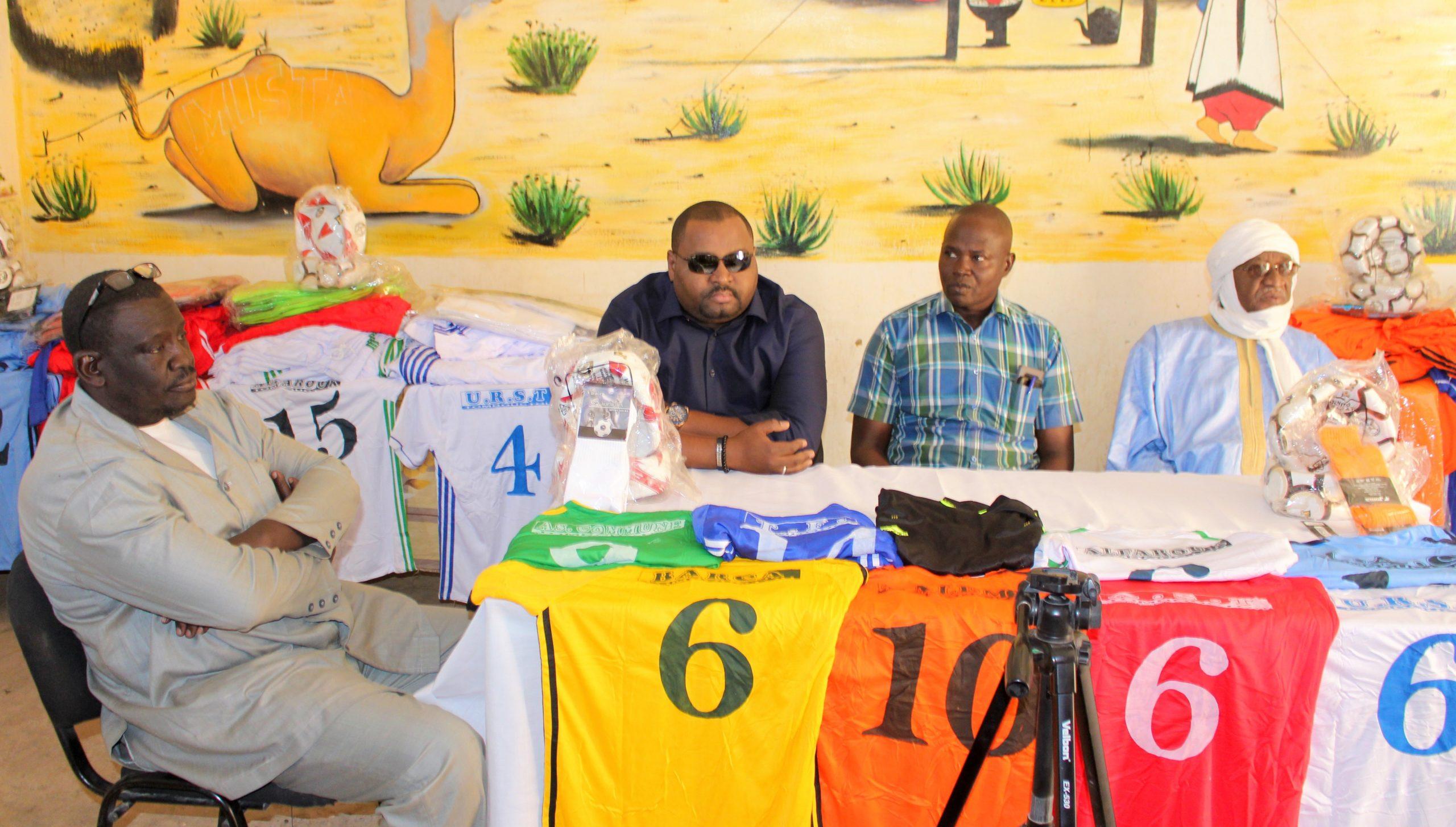 Moulaye Haidara alias George partenaire du Football Tombouctien.