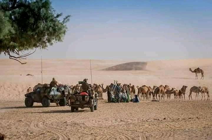 Lutte contre le terrorisme au Mali.