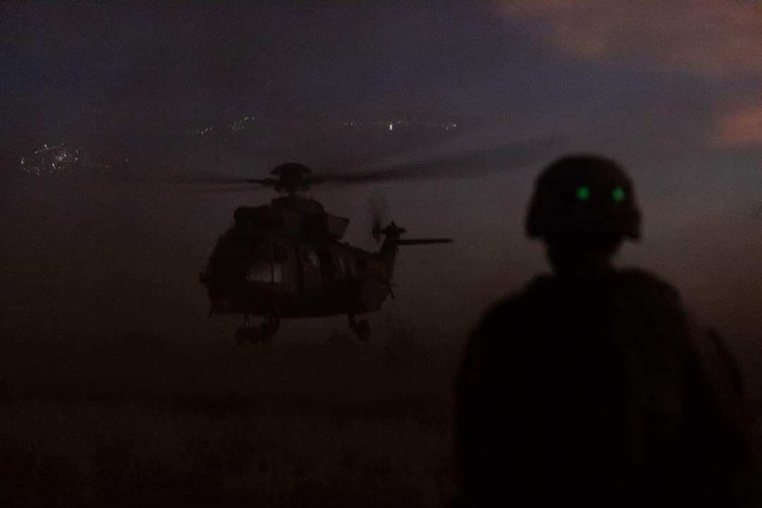 BARKHANE : Opérations dans la région de Mopti.