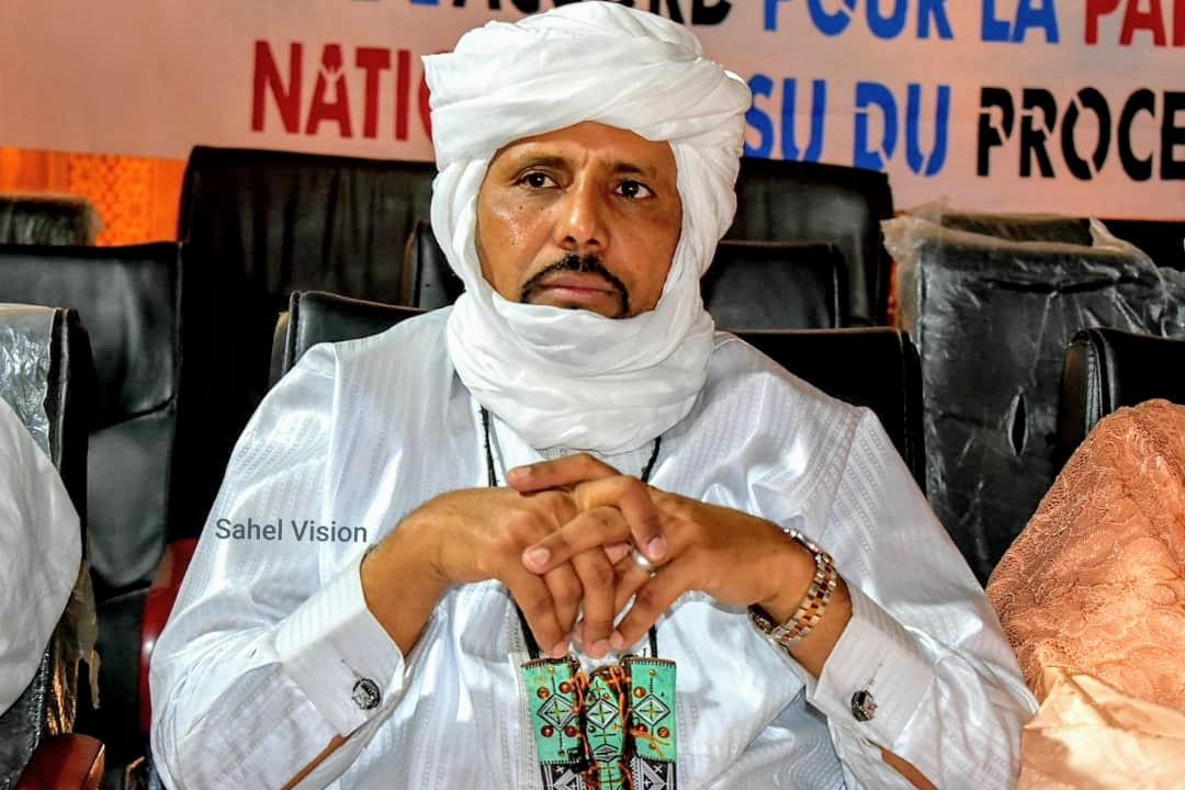 Ibrahim Ag Nock aux commandes de la section RPM du cercle de Diré.