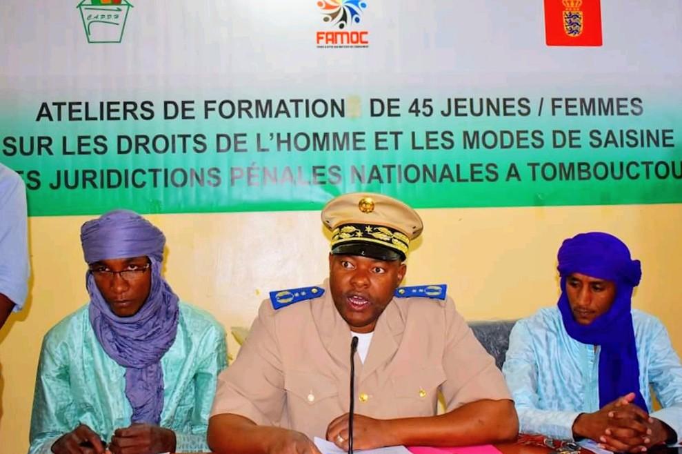 Le CApDH multiplie ses initiatives de formation au bénéfice des jeunes et femmes de Tombouctou.
