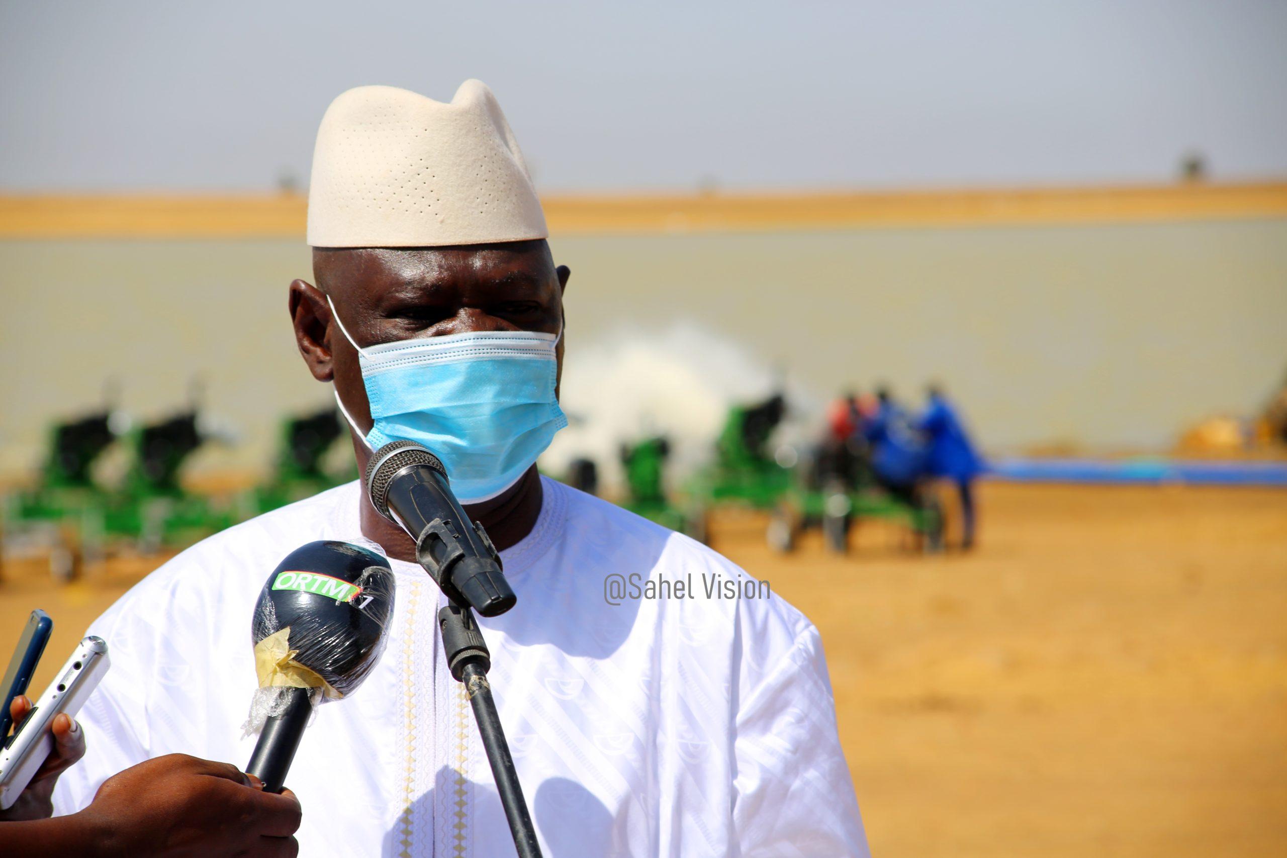 Cérémonie de remise de 40 motopompes via le programme Mali Nord.